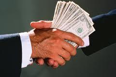 Штраф за взятку - 25,5 тыс. грн.