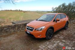 Тест-драйв Subaru XV: виток эволюции (ФОТО)
