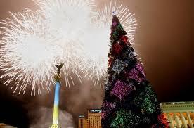 Встречающих Новый Год на Майдане ждет лазерное 3D-шоу и грандиозный фейерверк