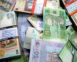 В Украине на межбанке вырос курс гривны к доллару и евро