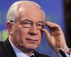 Н.Азаров предложил канцлеру Австрии инвестировать в украинскую ГТС