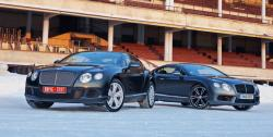 Морозим купе Bentley Continental GT с двигателями W12 и V8