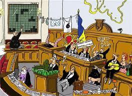 В парламенте торгуют шинами и котлами