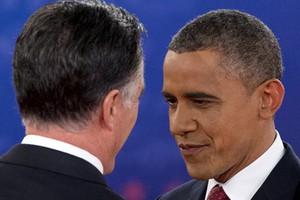 Дебаты не помогли Обаме взять верх над Ромни