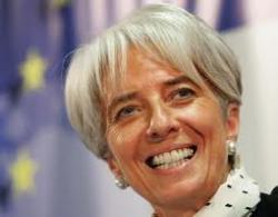 Кристин Лагард назначена главой МВФ