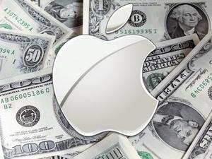 Акции Apple повышаюся в цене