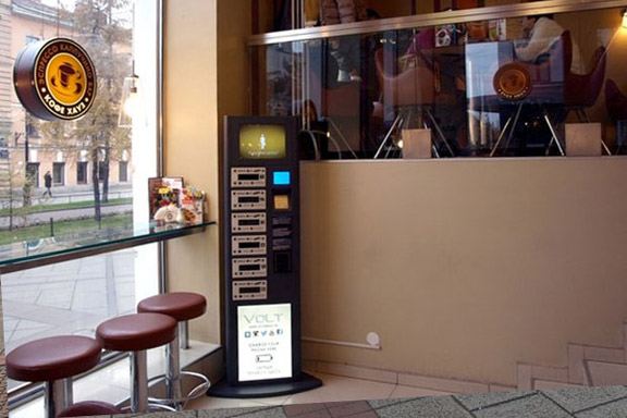 Cколько стоит бесплатная зарядка телефона в кафе?