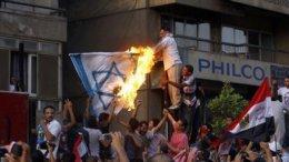 В Египте демонстранты напали на посольство Израиля