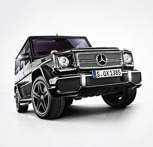 Ищем смысл в самом абсурдном внедорожнике Mercedes-Benz