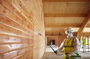 Деревянные дома и их химическая обработка