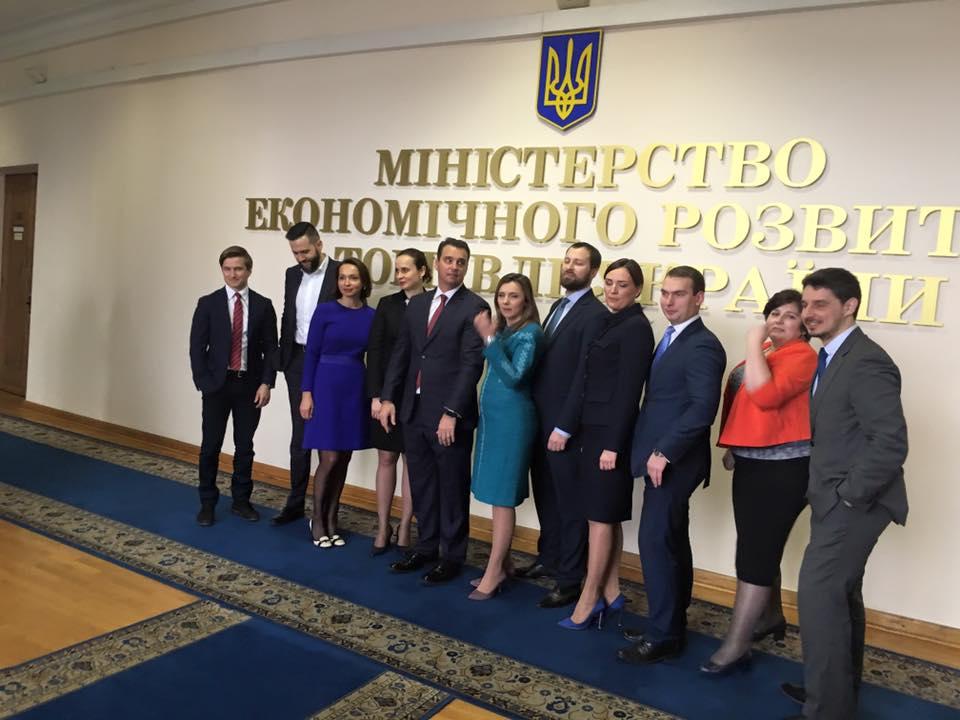Команда волонтеров уходит из Министерства Экономики Украины