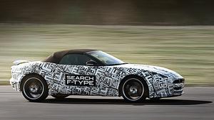 Родстер Jaguar F-Type дебютирует в Париже