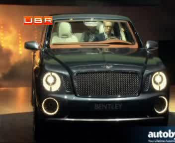 """Bentley представила гламурный """"вездеход"""" EXP 9 F"""