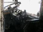 В Херсоне во время движения вспыхнул троллейбус