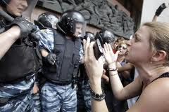 Закон о языках спровоцировал беспорядки в Киеве