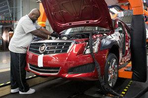 Новый Cadillac ATS пошел на конвейер