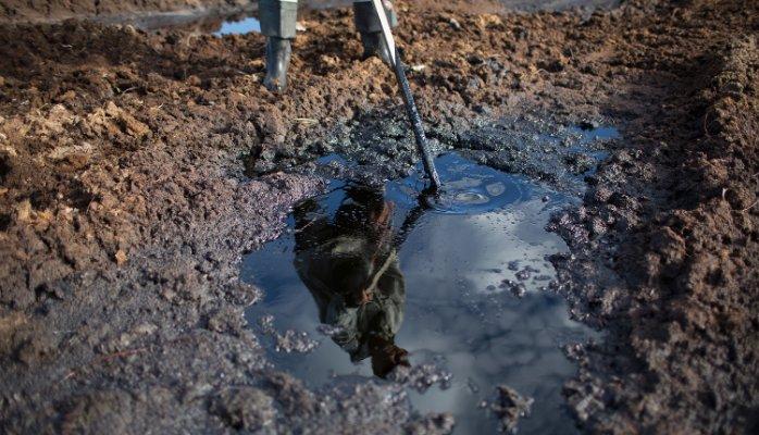 Цены на нефть выросли примерно на 3 процента.