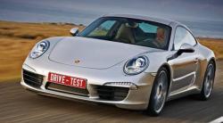 Чужая. Получаем на Новый год тест купе Porsche 911 Carrera S
