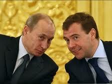 Рейтинги Медведева и Путина падают