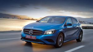 Подвергаемся атаке нового хэтча Mercedes A-класса