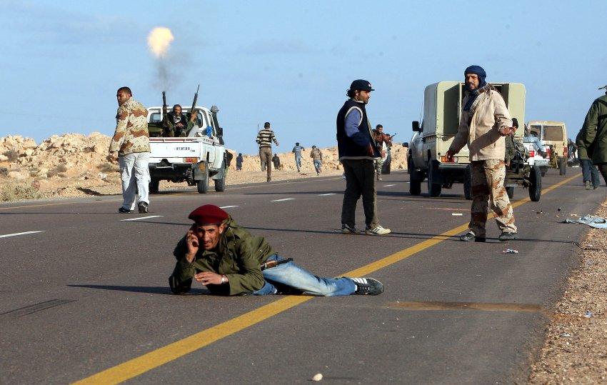 Что творится в ливии
