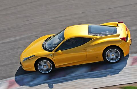 Ferrari 458 Italia - Фреза.